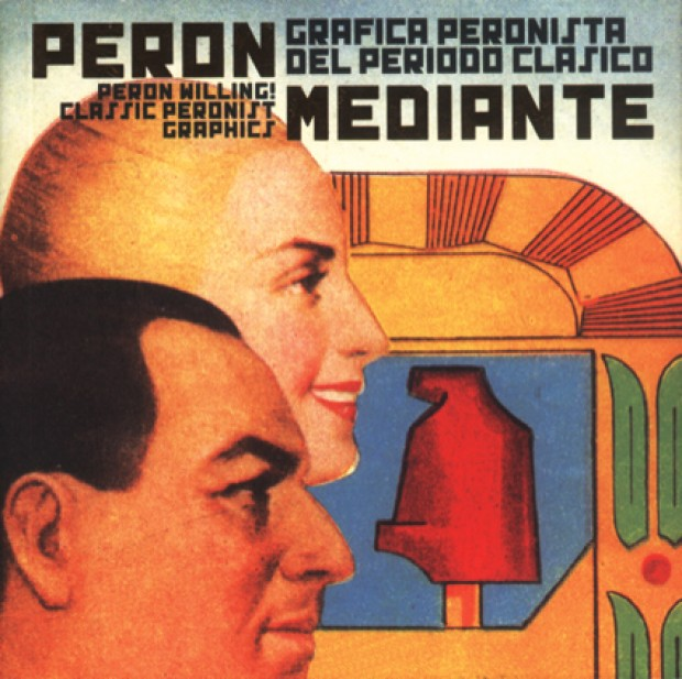 Portada Perón mediante. Gráfica peronista del período  clásico
