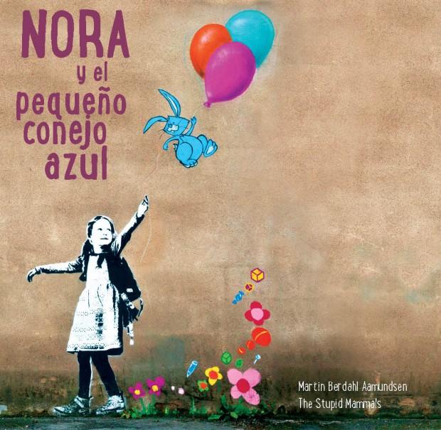 Portada Nora y el pequeño conejo azul