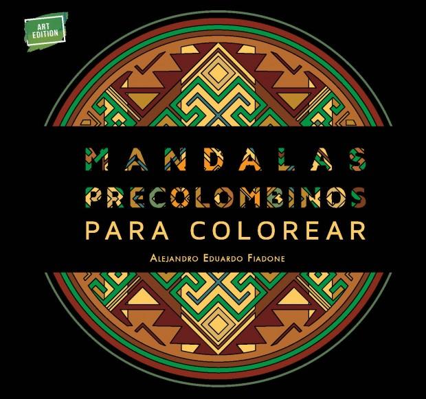 Portada Mandalas precolombinos para colorear