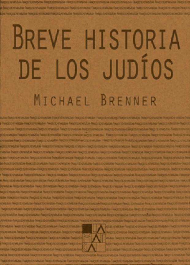 Portada Breve historia de los judíos