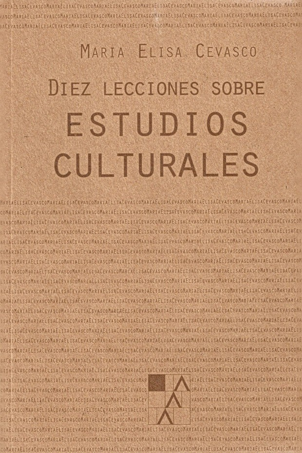 Portada Diez lecciones sobre estudios culturales