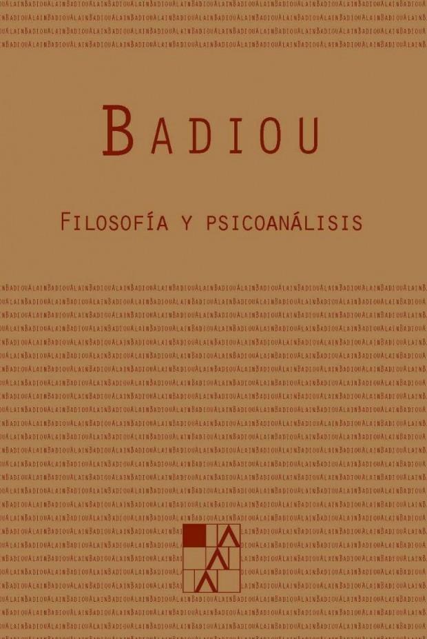 Portada Filosofía y psicoanálisis