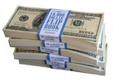 10.000 dollar flip book
