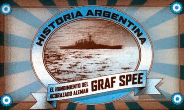 Portada El hundimiento del acorazado alemán Graf Spee