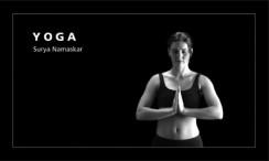 Yoga surya namaskar