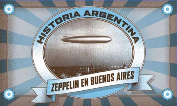 Portada Zeppelin en Buenos Aires