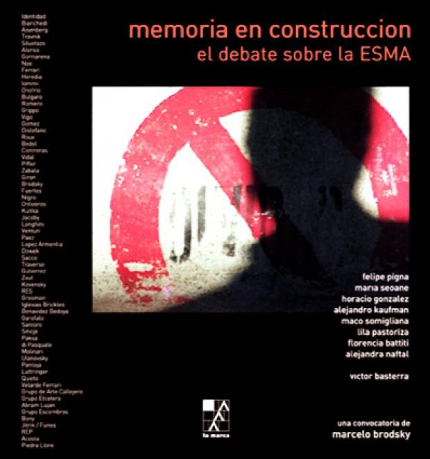 Portada Memoria en construcción: el debate sobre la ESMA