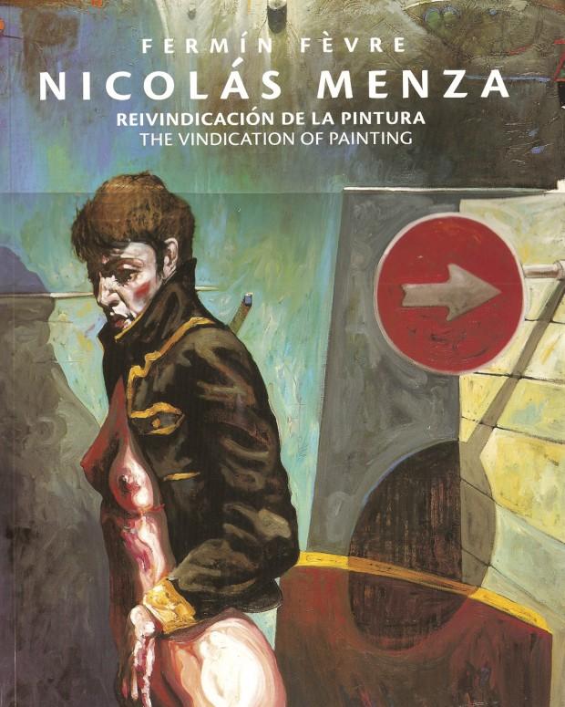 Portada Nicolás Menza. Reivindicación de la pintura ( cartoné )